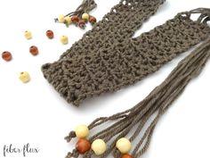 Free Crochet Pattern - Modern Taupe Belt