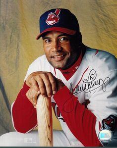 #SportsMemorabilia.com - #SportsMemorabilia.com Sandy Alomar Autographed Photo - JR 8X10 128678 - AdoreWe.com
