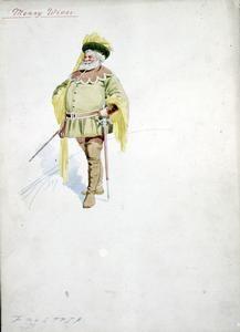 Falstaff-The Merry Wives of Windsor; Attilio Comelli