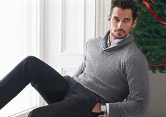 New || David Gandy for @marksandspencer Christmas 2016