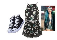 """""""Sem título #86"""" by sweet-liv-24 on Polyvore featuring moda e Topshop"""