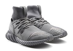 "Looking like just another set of tonal grey sneakers at first, this new pack from adidas for two of the newest Tubular models is so much more. The Tubular Doom is accompanied by the brand-new Tubular Nova for the ""Luxe … Continue reading →"