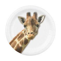 Cute Giraffe Paper Plate  sc 1 st  Pinterest & Polka Dot Giraffe Pacifier | Dots Giraffes and Pacifiers