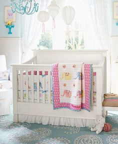 Vienna Elephant Nursery | Pottery Barn Kids