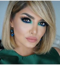 The Coolest Beauty Looks To Try This Month! Huda Beauty, Beauty Makeup, Eye Makeup, Hair Makeup, Makeup Kit, Makeup Brushes, Maquillage Normal, Makeup For Brown Eyes, Short Hairstyles For Women