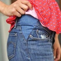 trucos ampliar ropa para embarazadas - Buscar con Google