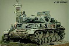 Vorpanzer by Volker Bembennek. Plastic Model Kits, Plastic Models, Rc Model Aircraft, Panzer Iv, Model Shop, Model Tanks, Military Modelling, Military Diorama, Big Guns