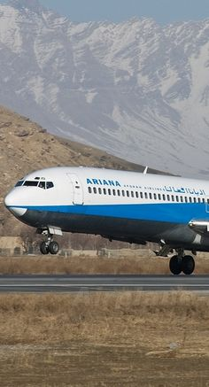 ariana airlines plane