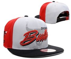 2cabd6622ee Casquette NBA Chicago Bulls Snapback Rouge Blanc Noir Casquette New Era Pas  Cher Nba News