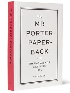 Rakishly Handsome: Mr. Porter