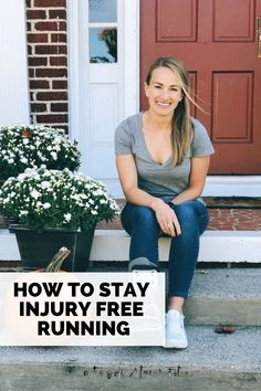 Nearly all runners deal with injuries. But just because it's common doesn't make it any less frustrating and disheartening. So today, I'm sharing my history with running injuries and how you can run injury free. In this post I'm sharing my 10 tips for staying injury free! Running Injuries, Running Workouts, Running Tips, Marathon Tips, Half Marathon Training, Weight Training For Runners, Runners Guide, Tempo Run, Best Running Shoes