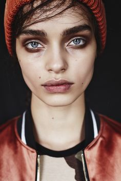 billykidd:  Luma Grothe was shot by Billy Kidd for Grey magazine.