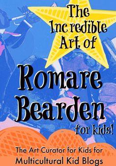 The Art Curator for Kids - The Incredible Art of Romare Bearden for Kids - Black History Month Blog Hop