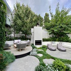 Courtyard Landscaping, Modern Landscaping, Outdoor Landscaping, Modern Courtyard, Courtyard Design, Modern Landscape Design, Landscape Architecture, Modern Backyard Design, Back Gardens