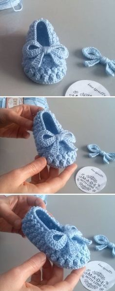 Popcorn Stitch Baby Shoes Crochet Baby Slippers + Free Pattern, crochet baby…Crochet Baby Slippers + Free Pattern, crochet baby…Brilliant Baby Converse Shoes To Easily Make For… Crochet Baby Clothes, Crochet Baby Shoes, Crochet Slippers, Sewing Clothes, Knit Baby Booties, Booties Crochet, Knitted Baby, Clothes Crafts, Baby Knitting Patterns