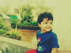 Amaan cute smile when noticed