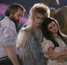 Jim Henson , David Bowie and Jennifer Connely