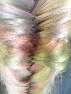 Wella Instamatic Pastels. All five colours. The Hair Studio based in Grimsby