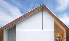 Off-centre pitched roof, Inner Sandy Bay, MGArchitects