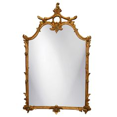 26 x 42 Ornate Wall Mirror