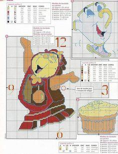 Cross Stich Patterns Free, Cross Stitch Charts, Cross Stitch Designs, Cross Stitching, Cross Stitch Embroidery, Embroidery Patterns, Beauty And The Beast Cross Stitch, Stitch Disney, Crochet Stitches Chart