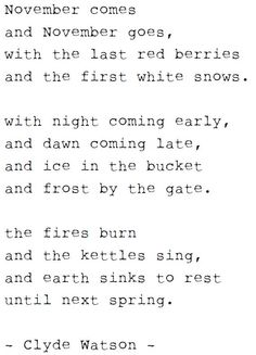 clyde watson...i recited this poem in elementary school and I still remember it at 36.