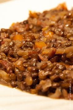 Lentils with carrots and small bacon Easy Soup Recipes, Vegan Recipes Easy, Quick And Easy Soup, Vegan Hummus, Beetroot Dip, Vegan Crackers, Vegan Breakfast Recipes, Vegan Cheese, Fruit Smoothies