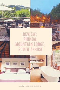 Safari in South Africa? But Phinda Mountain Lodge in KwaZulu Natal is an absolute must-do experience. Hawaii Honeymoon Resorts, Unusual Hotels, Best Places To Vacation, Kwazulu Natal, Beautiful Hotels, Amazing Hotels, Africa Travel, Best Hotels, South Africa