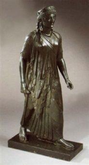 Archaic Greek-style Kore von Chiurazzi Foundry