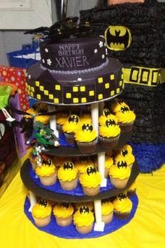Batman Lego Cake The Frosted Mermaid Pinterest See More - Lego batman birthday cake