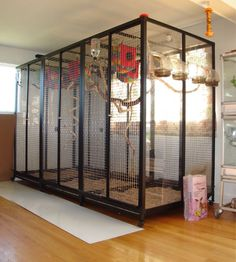 Bird Cage 72 x 96 x 48 Large Parrot Cage, Big Bird Cage, Bird Cages, Conure Cage, Parrot Play Stand, Pet Pigeon, Flight Cage, Sugar Glider Cage, Diy Bird Toys