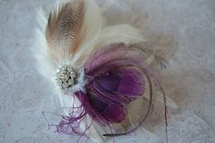 Bridal or Occasion Fascinator - Product code LEN