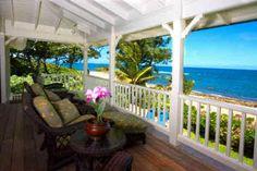 I can definitely see retiring here! Nice view  Hanalei, Hawaii