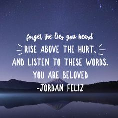 Credit to Jordan Feliz for this song, but just remember this as you go into the new year