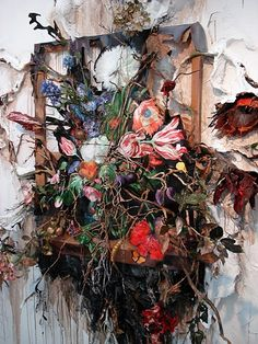Valerie Hegarty - Flower Frenzy (detail)