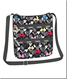 Minnie Rocks The Dots- New LeSportsac Disney Collection!!!