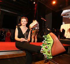 """Am 10.4.2015 gibt es in der Lugner City den """"Crazy Shoe Event"""" Eintritt ist gratis. Lisa Brumbauer (c) RobinConsult, Roznovsky."""