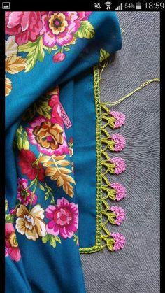 Most Trending Colorful Crochet Needlework Models Crochet Borders, Crochet Stitches Patterns, Baby Knitting Patterns, Knitting Stitches, Knitting Yarn, Peacock Crochet, Crochet Ruffle, Crochet Projects To Sell, Tatting