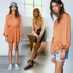 •Color•  Orange is the new black! Burnt orange of brique is dé kleur voor dit seizoen.