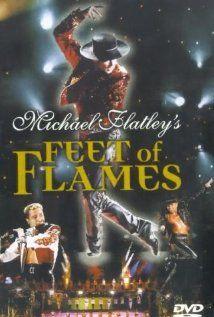 Feet of Flames (1998). Niezwykłe przedstawienie taneczne. Michael Flatley w tańcu irlandzkim zarejestrowany na żywo w Hyde Park w Londynie.