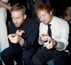 Pin for Later: Erlebt die besten Momente der Billboard Music Awards – ganz ohne TV! Calvin Harris und Ed Sheeran