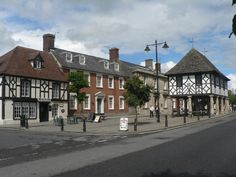 Wootton Bassett's High Street in England, where the butcher, the baker and the candlestick maker still operate separately but in great community