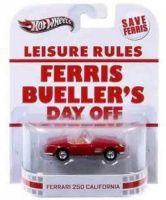 2013 Hot Wheels Retro Entertainment -  Ferris Bueller's Day Off - Ferrari 250 California