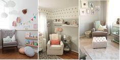 Decoración con sofás en el cuarto del bebé