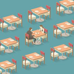 <First Date> Illustration by Donghyun Lim