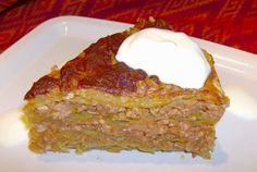 Retete Culinare - Musaca cu foi de varza acra sau sarmale desfasurate