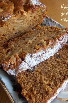 Healthy Sweets, Healthy Snacks, Healthy Eating, Healthy Recipes, Greek Cooking, Apple Cake, Greek Recipes, Dessert Recipes, Desserts
