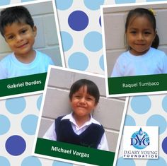 Meet a few more of the newest Young Living Academy students- Gabriel, Raquel and Michael!