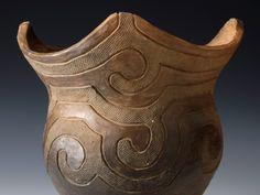 磨消縄文系統:中津式土器(模造)