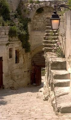 Les Baux de Provence, Eyguieres' Door (historical entrance of the medieval village), France Places Around The World, The Places Youll Go, Places To See, Around The Worlds, Belle France, Provence France, Stairway To Heaven, South Of France, France Travel